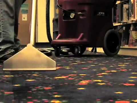 Apex Cleaning Supply Cfr Pro 500 Carpet Extractor Youtube