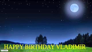 Vladimir  Moon La Luna - Happy Birthday