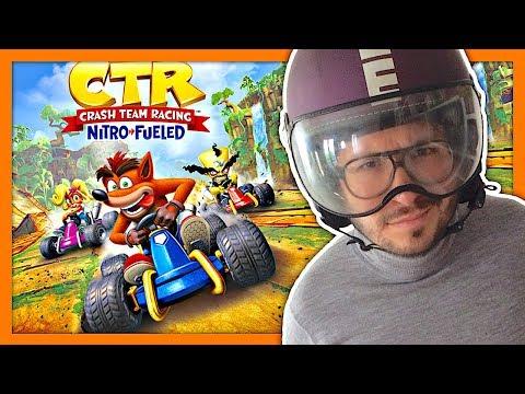 Crash Team Racing Nitro Fueled plus fort que Mario Kart ? Gameplay