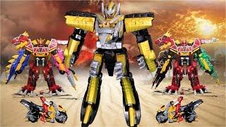 파워레인저 다이노포스 프테라고돈 공룡 장난감 동영상 獣電戦隊キョウリュウジャー power ranger dino force