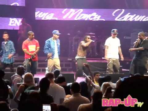 Omarion Performs Every Girl with Young Money
