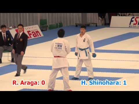 2015 JKF All Japan - Male Kumite