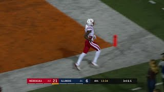 Stanley Morgan Jr.'s 23-Yard Touchdown vs. Illinois