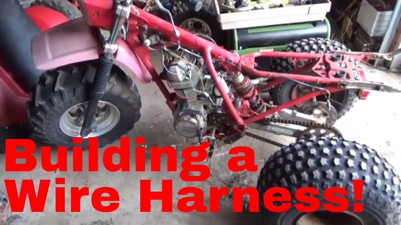 How to wire a Honda ATC 40S Motor to a 40X ignition harness