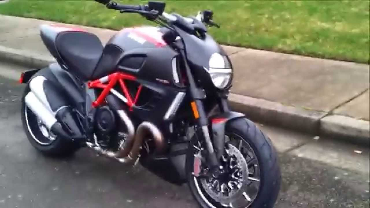 Bought My First Ducati Diavel Carbon Red Youtube