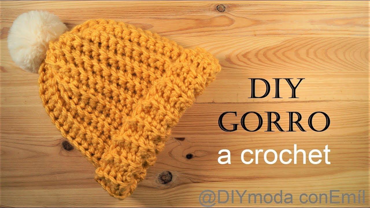 precio justo mejor precio mas bajo precio Gorro tejido a crochet paso a paso para principiantes