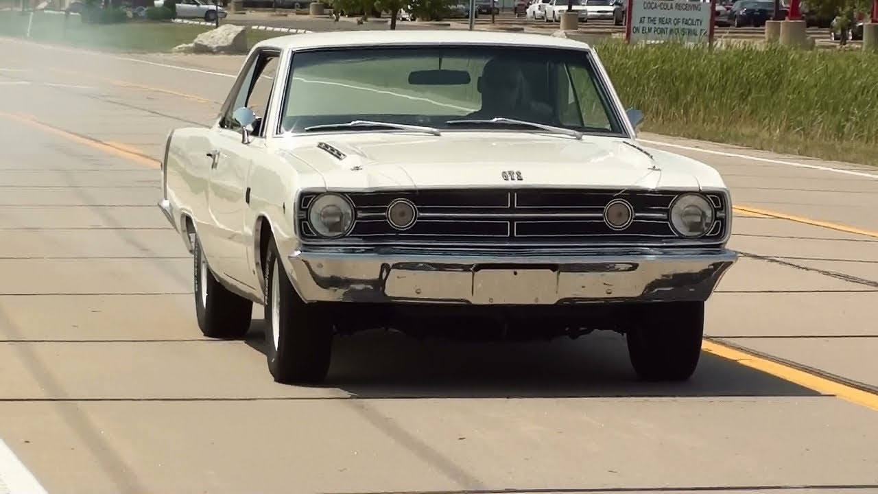 Test Driving 1968 Dodge Dart Gts 340 V8 Mopar Muscle Car Youtube