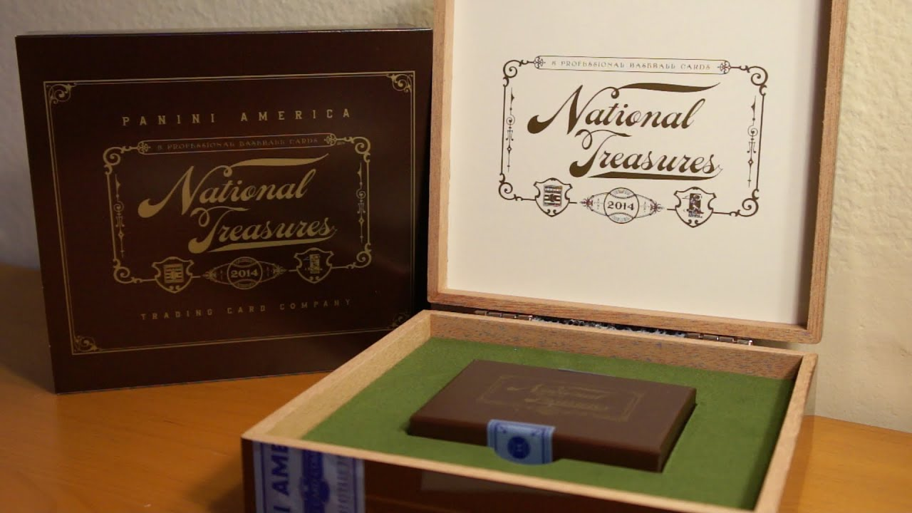 037169865c0 2014 Panini National Treasures Baseball Box Break! SWEET HITS! - YouTube