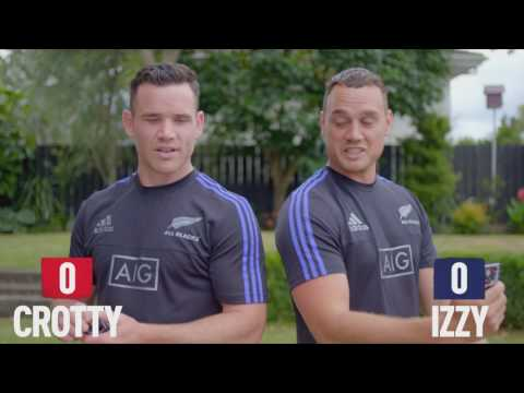 How well do Izzy and Crotty know the All Blacks?
