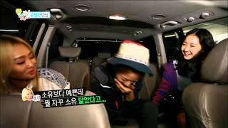 【TVPP】Soyou(SISTAR) - Meet with Jin Ji Hee, 소유(씨스타) - 닮은 꼴 소유 & 진지희! 도플갱어 인증샷 공개! @ My Tutor Friend