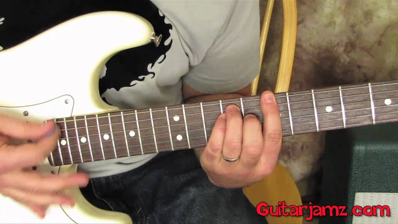 Green Day Basket Case Easy Beginner Electric Guitar Lesson How