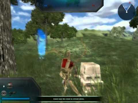 Star Wars Battlefront 2 Mods (PC): Conversion Pack 2.2 Alderaan: GCW