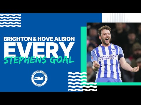 Every Dale Stephens Goal for Brighton & Hove Albion