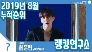 [랭킹연구소] 2019년 8월 보이그룹 누적순위 (남자아이돌 랭킹) | K-POP IDOL Boy Group…