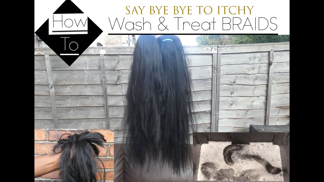How to WASH & TREAT Braids Before Use. Everything you NEED TO KNOW