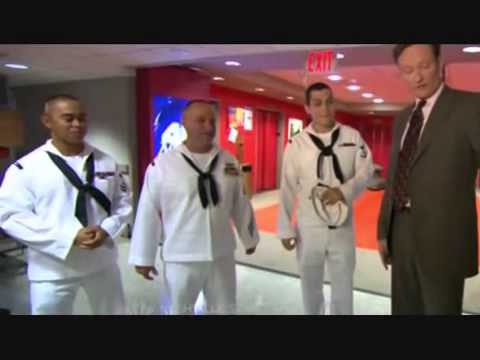 Conan Travels - 'U.S. Navy GE Building Tour' - 5/23/08