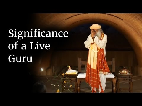 Significance of a Live Guru