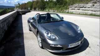 2011 Porsche 987 Boxster S in the Jura mountains