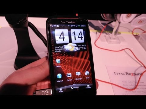 HTC Rezound First Look