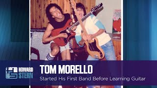 Tom Morello Couldn't Even Play Guitar When He Formed His High School Band