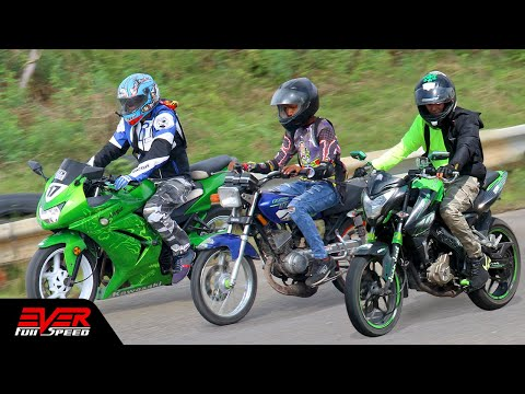 Pulsar NS200 vs Yamaha RX vs Ninja 250 | Final 16 seg. 2 vál