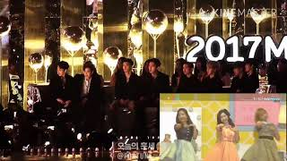 "Download Video #EXO reaction to #Twice ""knock knock'' at Melon Music Award 2017 MP3 3GP MP4"