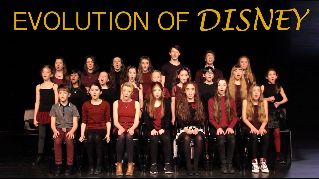 Resultado de imagem para EVOLUTION OF DISNEY - Live Medley - Amazing Young Singers