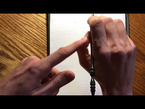 Handwriting Fundamentals - Muscular Movement (Palmer Method) Grip and Action