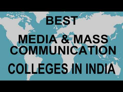 Best Media And Mass Communication Colleges In India | Vidhya Clinic