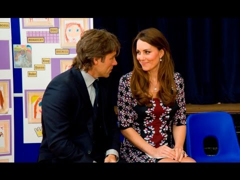 The Duchess of Cambridge and John Bishop see your cash in action | Red Nose Day 2013