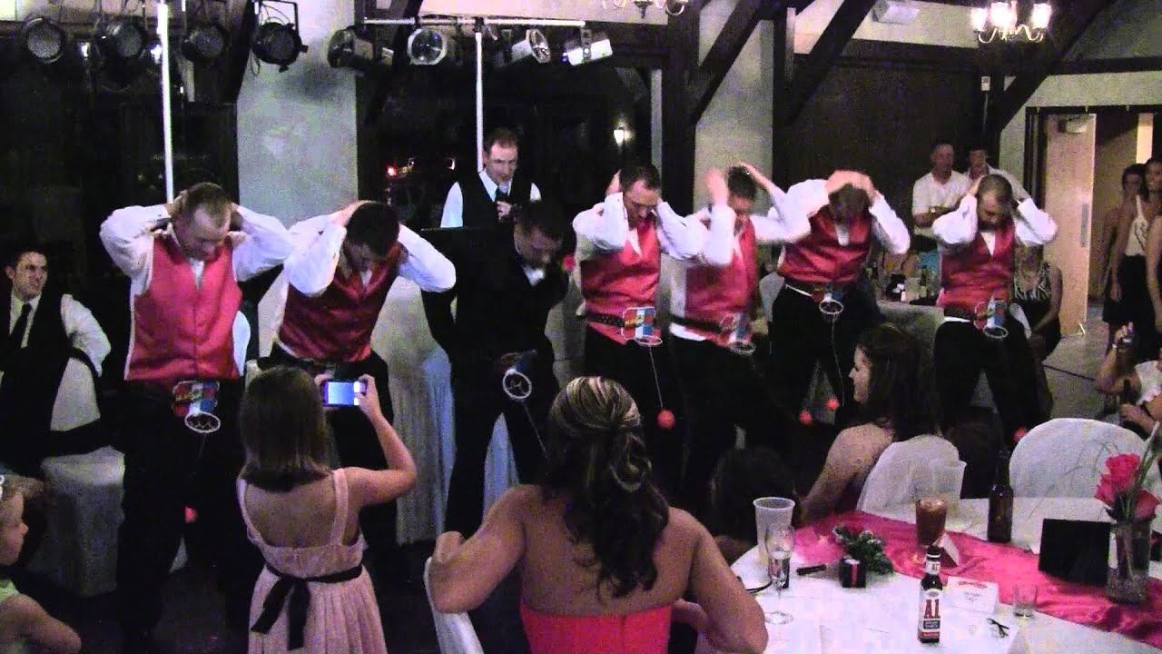 Best Wedding Reception Games, Basketball Game - YouTube