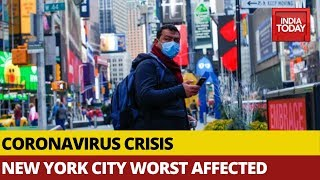 Covid19 Crisis: US Tops World In Active Cases, New York Worst Affected