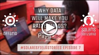 Why data will make you raise funds? - #SolarisFieldStories Episode 7
