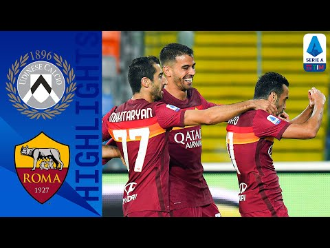Udinese AS Roma Goals And Highlights