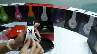 Monster Beats By. Dre  PLAYBOY STUDIO PLAYBOY LIMITED EDITION unboxing review---Flydream