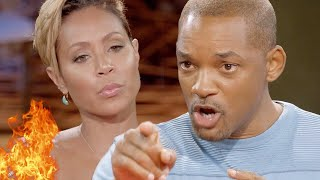 Will Smith Hit Jada With Newspaper On Head Threatens Divorce For Her Mouth (MUST SEE)