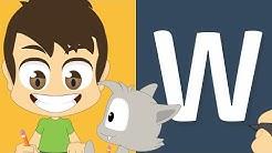 حرف (W) | تعليم كتابة حرف (W) باللغة الإنجليزية ل&#x