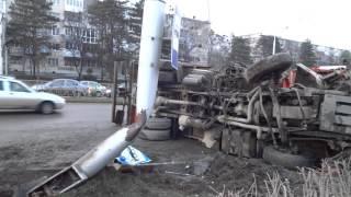 Страшное ДТП с камазом на Лермантова - Льва толстого (Ставрополь)