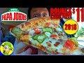 Papa John's® | Double Cheeseburger Pizza 2018 | Food Review! 🍕🍔