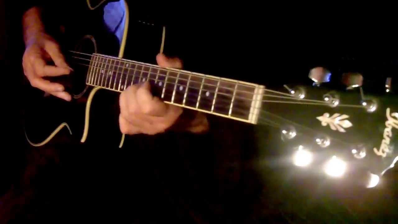 Aage Bhi Jaane Na Tu On Guitardicated To Miss Priya