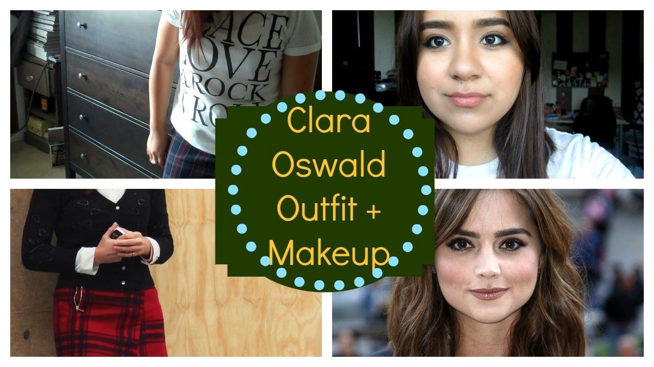 Clara Oswald Make Up Outfit Redo Halloween Idea Emily Youtube