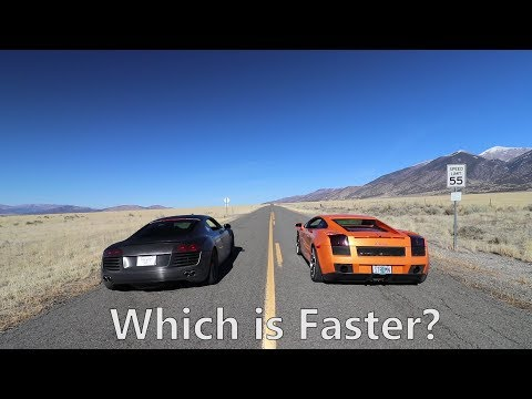 Lamborghini Gallardo vs. Audi R8