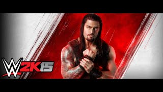 WWE 2K15 PC GAMEPLAY(LOWEST SETTINGS)