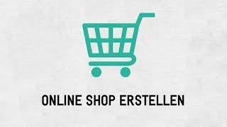 Onlineshop erstellen|Übersicht
