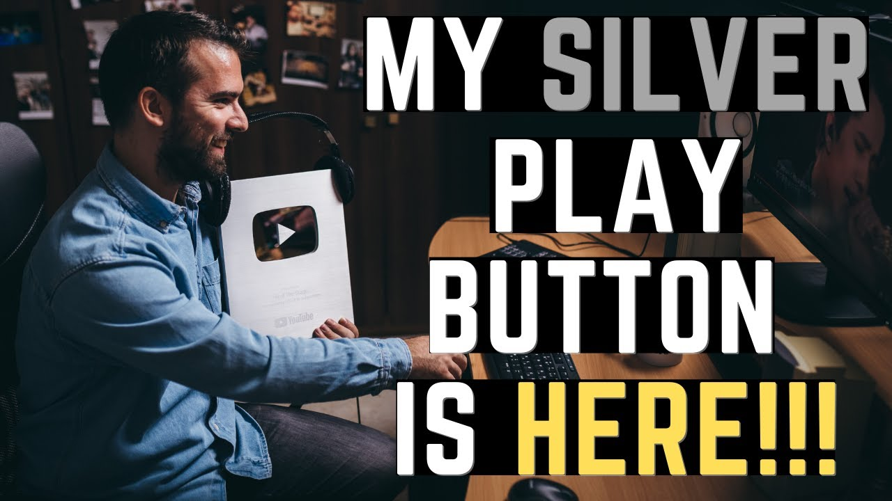 ALREADY HERE! Silver Play Button UNBOXING - H of The Stage