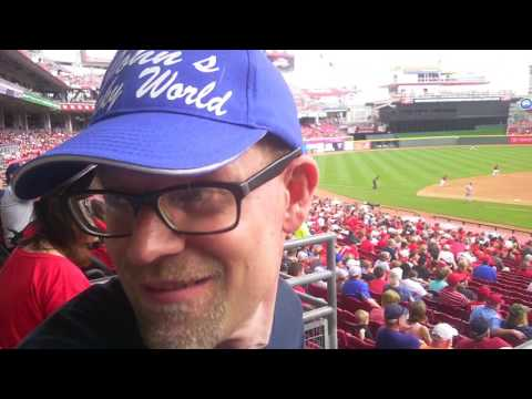 A First Cincinnati Reds Game