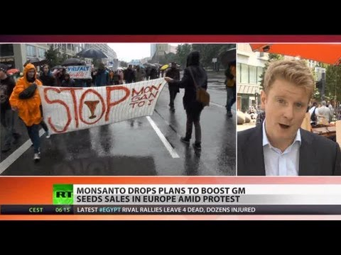Monsanto Go Home: EU slams door on GM food amid protests