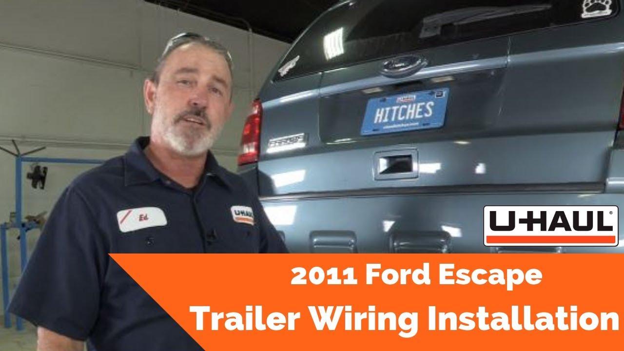 medium resolution of 2011 ford escape trailer wiring installation youtube 2011 ford escape trailer wiring