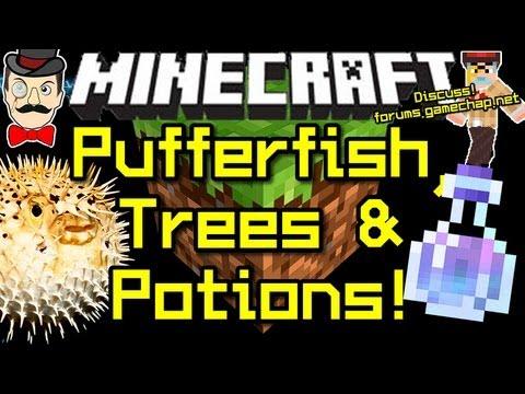 Minecraft News PUFFERFISH, New Potion & LOOT! - YouTube