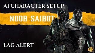 Mortal Kombat-11 - het opzetten van de perfecte Noob Saibot AI Karakter